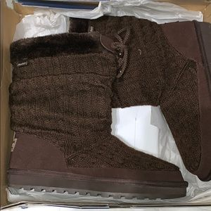 Brown comfortable boots
